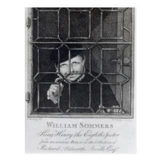 Carte Postale William Sommers, gravé par R. Clamp, 1794