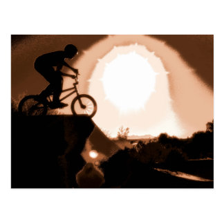 Carte Postale WillieBMX la terre chaude
