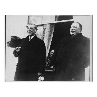 Carte Postale Wilson et Taft