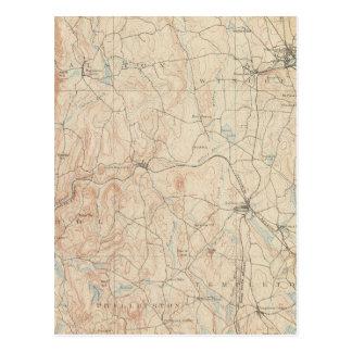 Carte Postale Winchendon, le Massachusetts