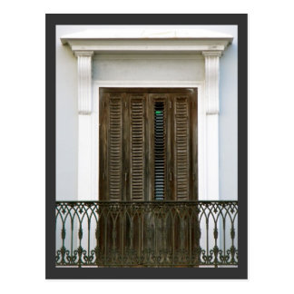 Carte Postale Windows de vieux San Juan, Porto Rico