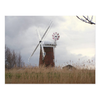 Carte Postale Windpump chevalin Norfolk