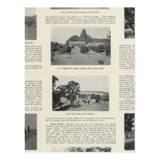 Carte Postale Windsor, la Californie