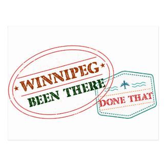 Carte Postale Winnipeg là fait cela