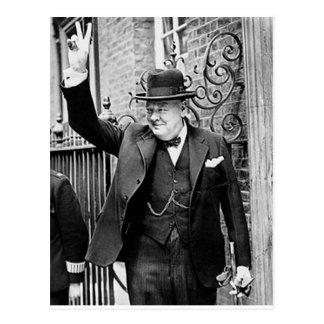 Carte Postale Winston Churchill