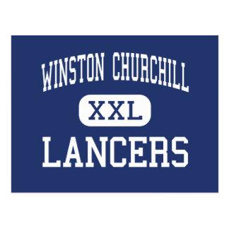 Carte Postale Winston Churchill - Lancers - hauts - Eugene