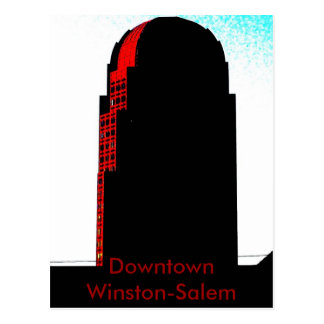 Carte Postale Winston-Salem du centre, OR
