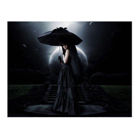 Carte Postale Women gothic moon