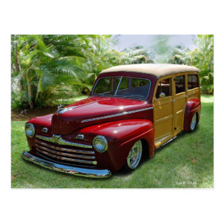 Carte Postale Woodie hawaïen