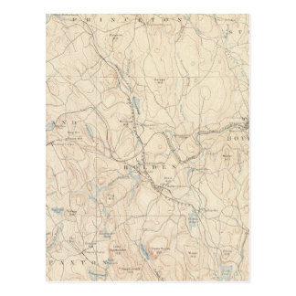 Carte Postale Worcester, le Massachusetts