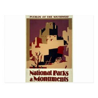 Carte Postale WPA - parcs nationaux