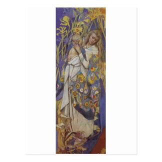 Carte Postale Wyspianski, Caritas (Madonna et enfant), 1904 (1)