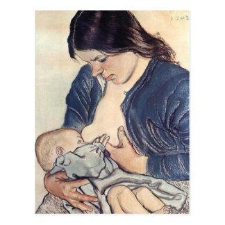 Carte Postale Wyspianski, Maternity, 1902