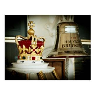 Carte Postale Yacht royal Britannia