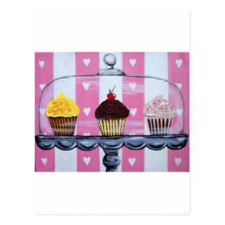 Carte Postale yea ! petits gâteaux !