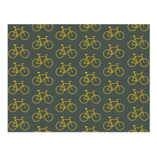 Carte Postale Yellow Bike