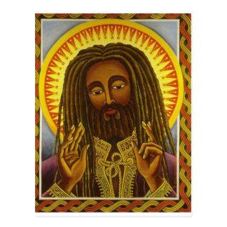 Carte Postale Yeshu Rasta Fari