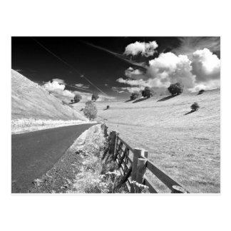 Carte Postale Yorkshire noir et blanc