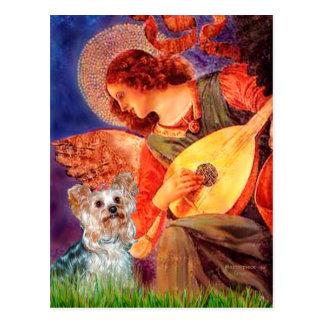 Carte Postale Yorkshire Terrier (t) - ange de mandoline