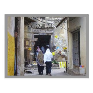 Carte Postale Zanzibar