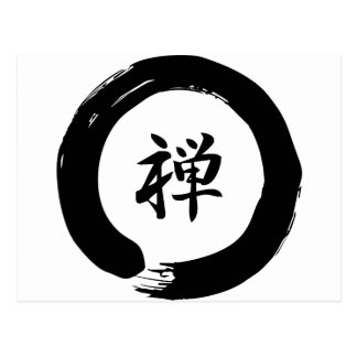 Carte Postale Zen
