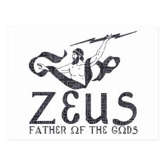 Carte Postale Zeus