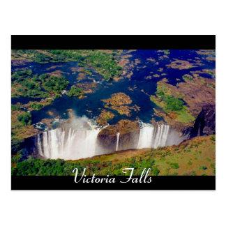Carte Postale zim des chutes Victoria