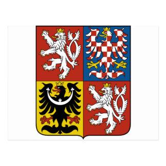 Carte Postale Znak České de Státní d'emblème de République