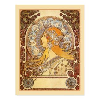 Carte Postale Zodiaque