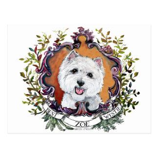 Carte Postale Zoe