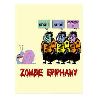 Carte Postale Zombi Halloween
