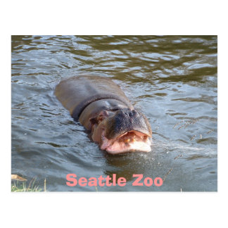 Carte Postale Zoo de Seattle