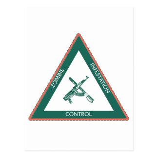 Carte Postale Zoombie unity contrôle