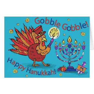 Carte pour le thanksgiving et le