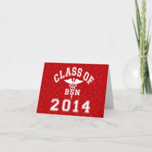 Carte Pour Les Fetes Classe De 2014 BSN