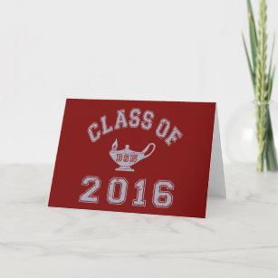 Carte Pour Les Fetes Classe De 2016 BSN