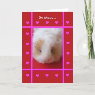 Carte Pour Les Fêtes Valentine drôle -- Grossier