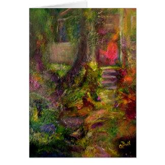 """""""Carte pour notes d'art du cottage"""""""