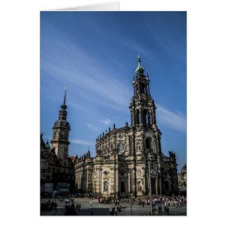 Carte pour notes de Katholische Hofkirche Dresde
