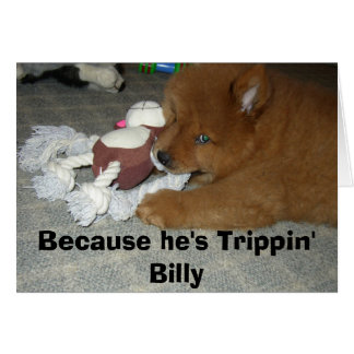 Carte pour notes de Trippin Billy
