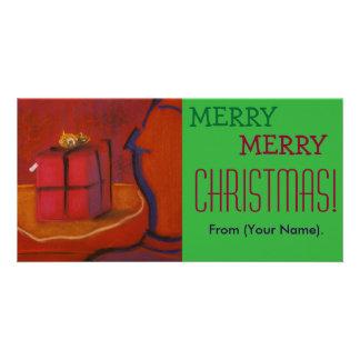 Carte pour notes personnalisable de Joyeux Noël de Photocarte