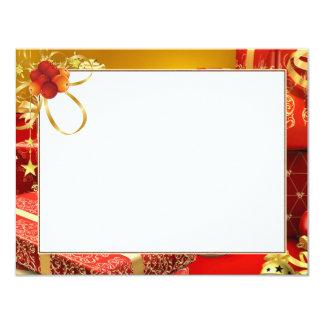 """Carte pour photo «Présente """" Carton D'invitation 10,79 Cm X 13,97 Cm"""
