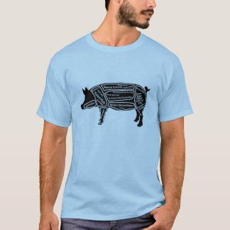 Carte principale de porc t-shirt