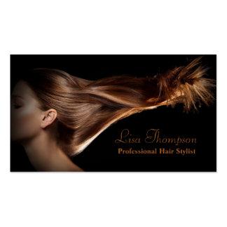Carte professionnelle de salon de coiffeur/beauté carte de visite standard