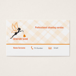 Carte professionnelle d'entreprise de services de
