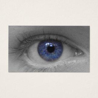 carte profonde de buissnes d'oeil bleu
