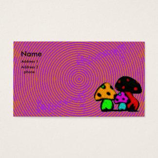 carte psychodelic de champignon