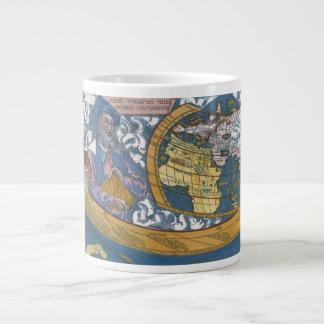 Carte Ptolemaic antique du monde Claudius Ptolém Mug Extra Large