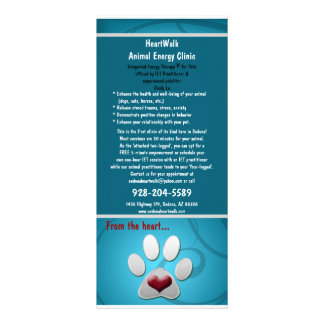Carte Publicitaire animaux familiers de rackcard