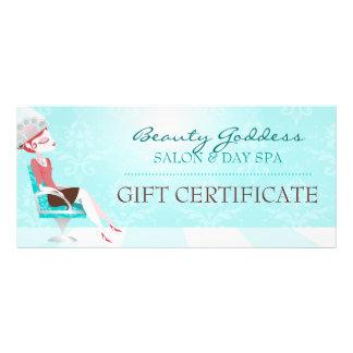 Carte Publicitaire Certificat-prime de déesse de beauté
